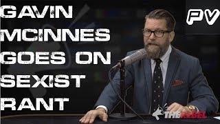 Gavin McInnes Goes On Massively Sexist Rant (Flashback)