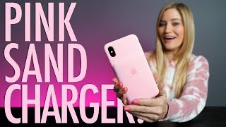 NEW Pink Sand iPhone Charging Case!