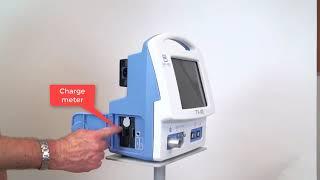 """Аппарат искусственной вентиляции легких универсальный для новорожденных, детей и взрослых модель TV-100 от компании ТОО """"Искра Трэйдинг"""" - видео"""