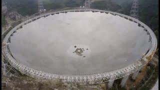 Jak został skonstruowany chiński teleskop FAST?