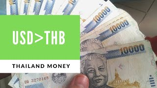 USD to BAHT 2020 Thailand Exchange Rate