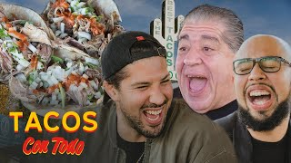 Joey Diaz Talks Getting Heckled While Eating Tacos with Brendan Schaub | Tacos Con Todo