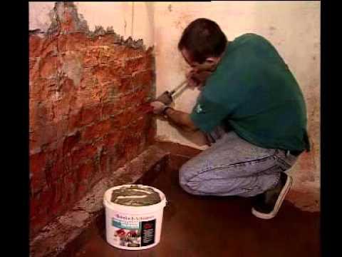 Anleitung: MEM Trockene Wand - Horizontalsperre gegen aufsteigende Feuchtigkeit selber machen