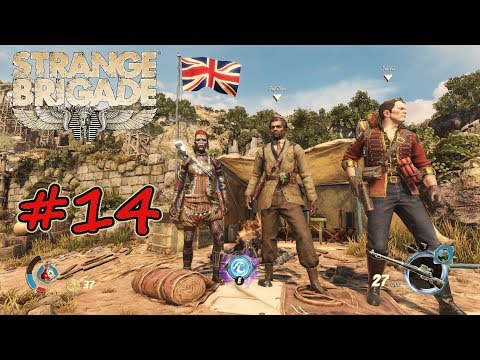 Strange Brigade #14 Der Stier mit dem Tür - Schild Let's Play Deutsch HD