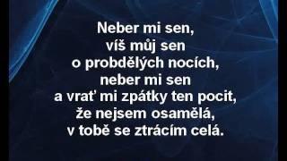 Lucie Bílá - Most přes minulost (karaoke z www.karaoke-zabava.cz)