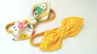 Baby Headband Ideas : Simple Bow Headband | DIY By Elysia Handmade