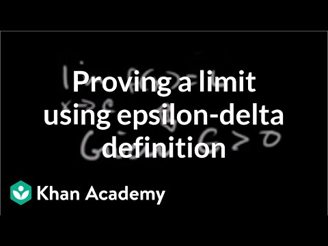 Formal definition of limits Part 4: using the definition