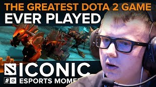 ICONIC Esports Moments: The Greatest Dota 2 Game Ever Played