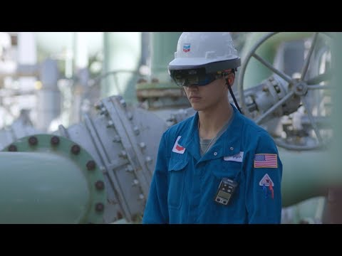 <span>microsoft and chevron team up to deploy hololens AR technology&nbsp;</span>