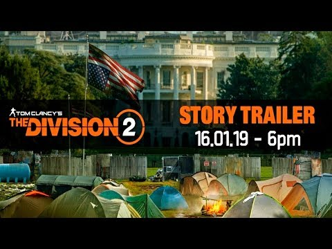 The Division 2: LIVE STORY TRAILER PREMIERE REACTION!