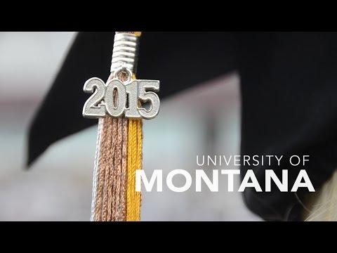 University of Montana Commencement 2015