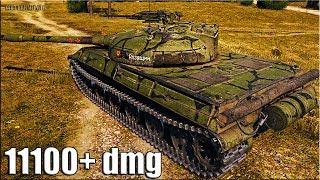 Объект 430У ТРИ ОТМЕТКИ за БОЙ 🌟 11100+ dmg 🌟 World of Tanks лучший бой на ст 10 уровня