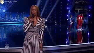 Merrick Hanna Mirror Image America's Got Talent 2017 results quarter final Round 2