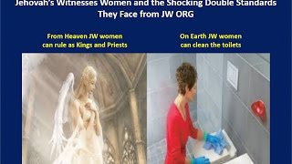 Vid #23 Jehovah's Witnesses Women and the Shocking Double Standards They Face from JW ORG