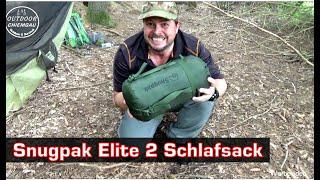 Snugpak Elite 2 Schlafsack - besser als der Carinthia Tropen? Frühjahr, Sommer, Herbst Schlafsack