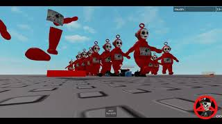 Roblox The rise of the red teletubby