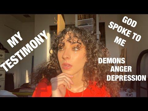 SATANISM, WITCHCRAFT, DRUGZ, DEPRESSION + MY PROPHECY (@34 min) this is my testimony