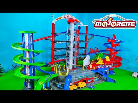 Besser als Hot Wheels? Die Majorette Super City Garage im Test | Toys Unboxing