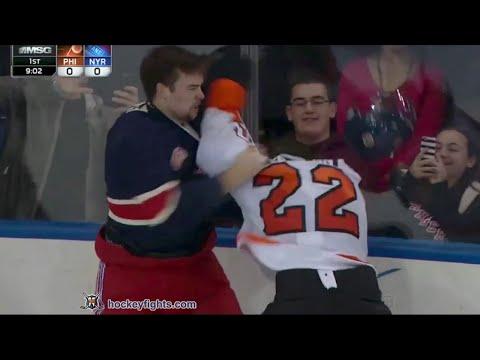 Luke Schenn vs Dylan McIlrath