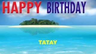 Tatay  Card Tarjeta - Happy Birthday
