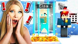 Saving ELSA From Minecraft Ice PRISON!