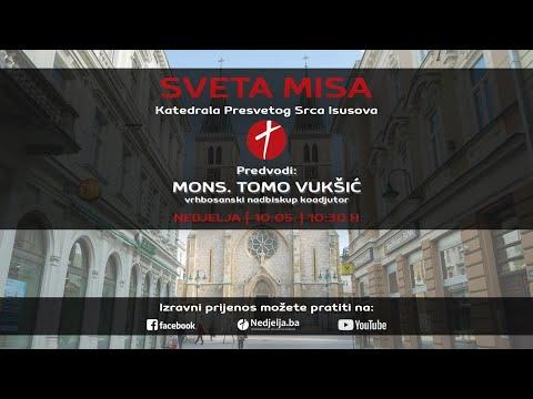 Sv. misa Pete nedjelje po Uskrsu, Sarajevska katedrala