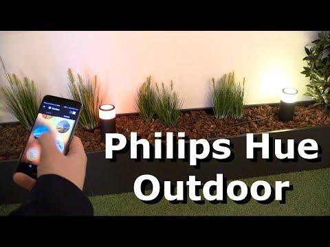 Philips Hue Outdoor - LED-Leuchten für den Aussenbereich