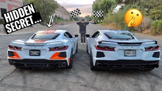 My 700HP Twin Turbo C8 VS 600HP Twin Turbo C8 with NITROUS! by TJ Hunt