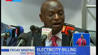 CS Charles Keter directs Kenya Power to revise tariffs; hints at energy cost to go down