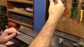 Homemade Sanding Belts