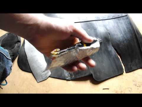 Заклейка (ремонт) ковриков автомобиля ВАЗ 2115