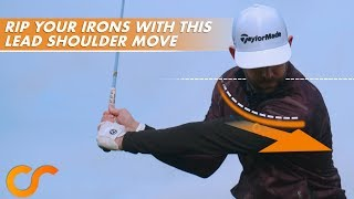 RIP YOUR IRONS WITH THIS LEAD SHOULDER MOVE