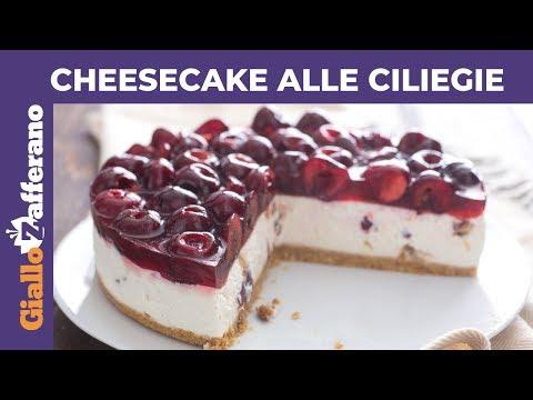 CHEESECAKE ALLE CILIEGIE - Ricetta perfetta!