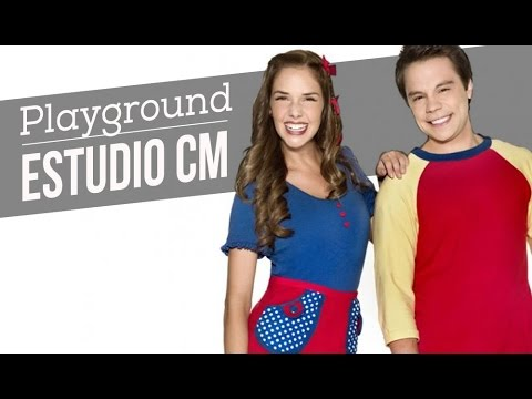 Playground video Entrevista + Canciones - Estudio CM 2016