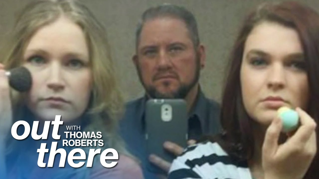 Trans Man Protests Bill With Bathroom Selfies | Out There | msnbc thumbnail
