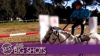 Little Big Shots | Go Horse Riding with Matteo!