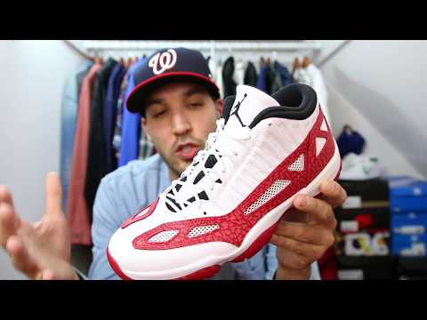 "AIR JORDAN RETRO 11 XI ""GYM RED/WHITE"" I.E. SNEAKER UNBOXING! AND SURPRISE PAIR OR JORDAN'S! Mp3"