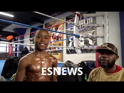 , title : 'Kid At Broner Gym Got A Six Pack Like Tim Bradley - esnews boxing'