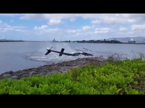 Viral Video: Helicopter Crash Pearl Harbor