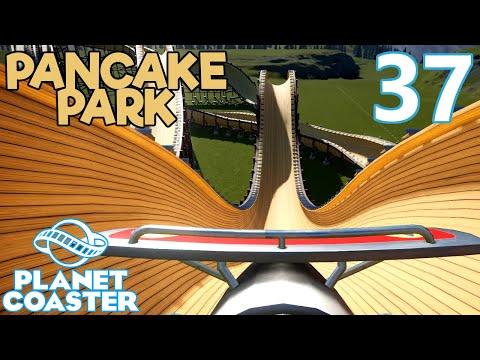 Planet Coaster PANCAKE PARK - Part 37 - FINISHING THE BOBSLED