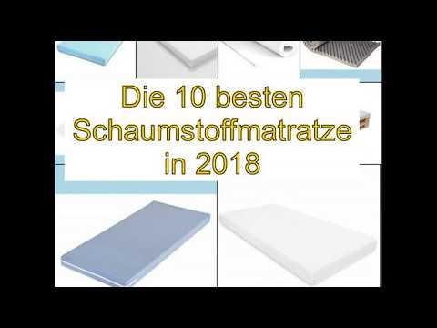Die 10 besten Schaumstoffmatratze in 2018