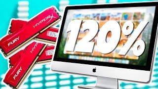 Замена оперативной памяти в iMac 27