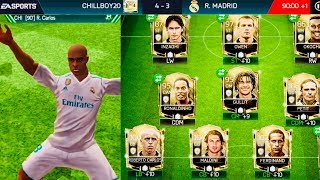 CLAIMING ROBERTO CARLOS ICON - All SBCs completed / Gameplay Review Icon 100 OVR fifa mobile
