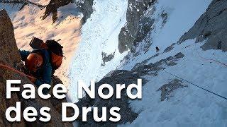 #2 Face Nord du Petit Dru voie Pierre Allain Raymond Leininger Chamonix Mont-Blanc alpinisme