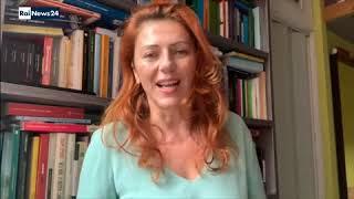"""Gabriella Greison intervistata su RaiNews24 / """"Ucciderò il gatto di Schrödinger"""", Mondadori"""