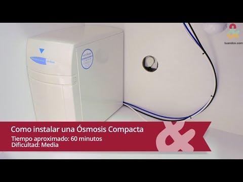 Cómo instalar una ósmosis inversa compacta