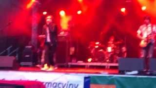 preview picture of video 'Lady Pank - Zamki Na Piasku  - Sucha Beskidzka 23.06.13'