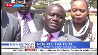 MPs visit the new Dandora KCC plant to know its progress