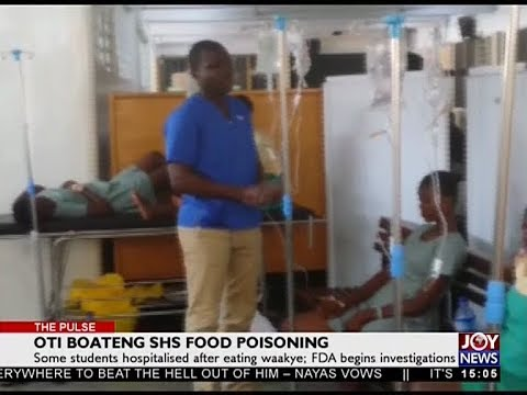 Oti Boateng SHS Food Poisoning - The Pulse on Joy News (16-5-18)