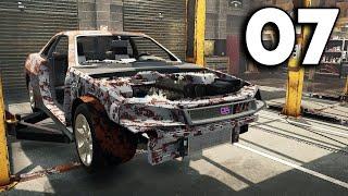 Car Mechanic Simulator 2021 - Part 7 - FULL R34 SKYLINE REBUILD!